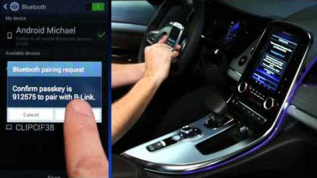 """Kopplung eines Smartphones über den """"Discovery Modus"""""""